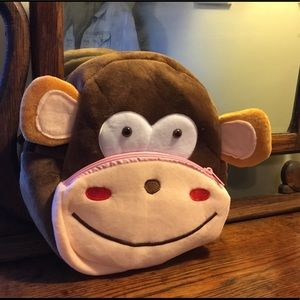 Monkey backpack for monkeying around!